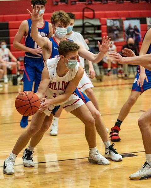 2021 Varsity Boys Basketball:  Hall-Dale vs Mt Ararat