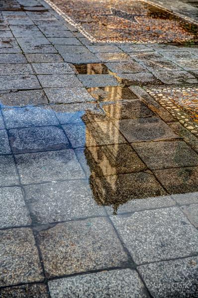 Rain in Salamanca, Spain October 2015
