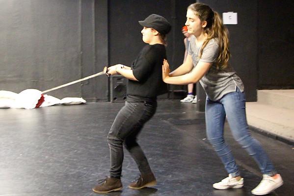 Twelfth Night Rehearsal 8/5/13