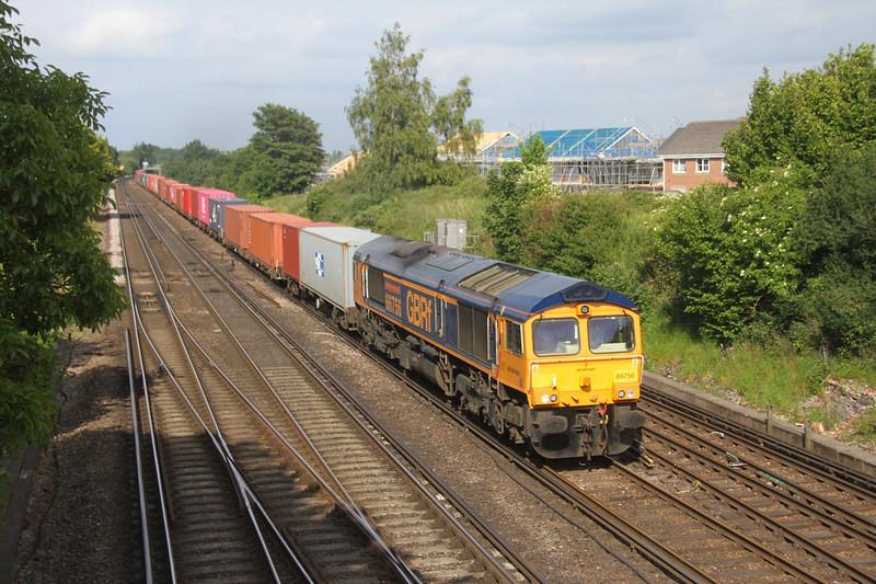 66756 Worting Junction 08/06/20 4O69 Hams Hall to Southampton Western Docks