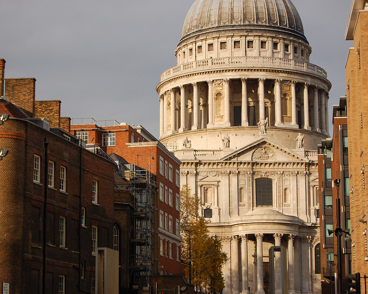 St. Paul's Cathedral in Afternoon Light