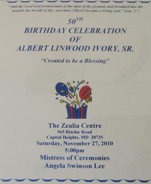 Albert's 50th