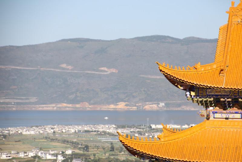View of Dali and Er-Hai Lake