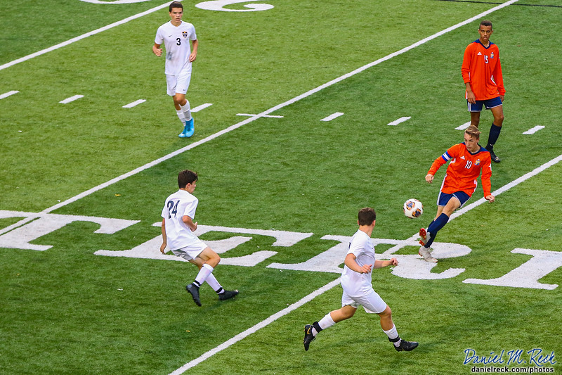 Chargers Boys Soccer vs. DeWitt at Atwood Stadium