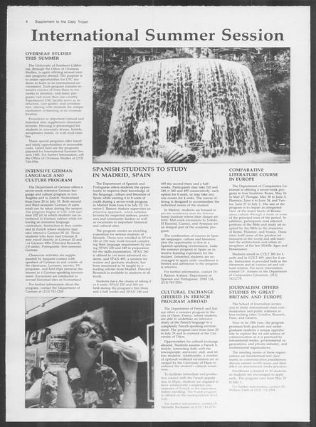 Daily Trojan, Vol. 93, No. 43, March 15, 1983