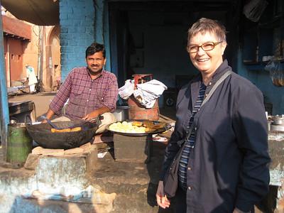 Mum in India