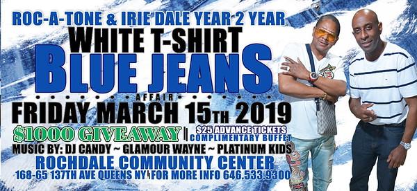 "ROCATONE & IRIE DALE ""WHITE T-SHIRT n BLUE JEANS""(0)"
