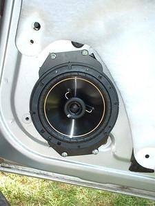 2002 Pontiac Grand Am GT Front Speaker Installation - USA