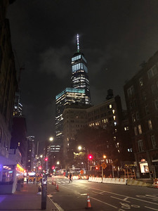 WTC by night