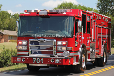 Ovilla (TX) Fire Department's newest delivery