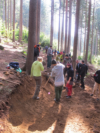 IMBA trail building School Rychlebske Stezky
