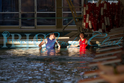 UT Trideltathon Swim