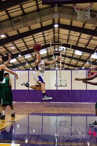 JV Boys Basketball: CCS vs. Harding Prep, February 13