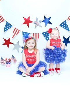 Madison and Scarlet Patriotic 2018
