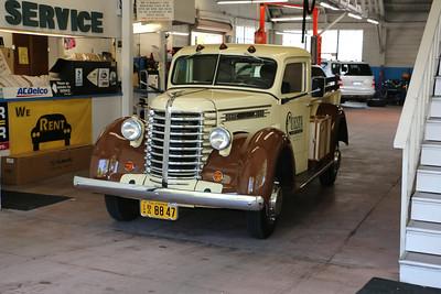 Late 1940s Diamond T pickup truck