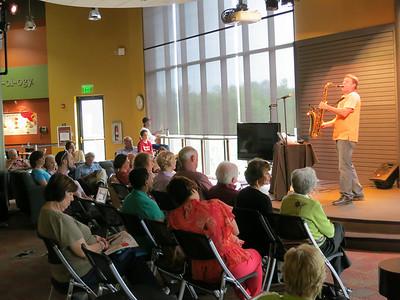 Instrumentalists @ the Plaza- Saxaphonist Vann Burchfield May 19, 2013