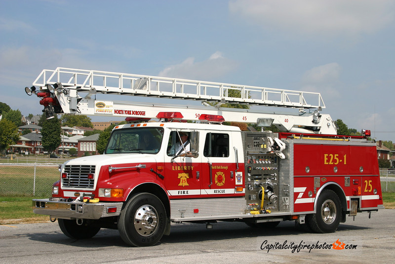 North York Engine 25-1: 2002 International/KME 1250/500 55'