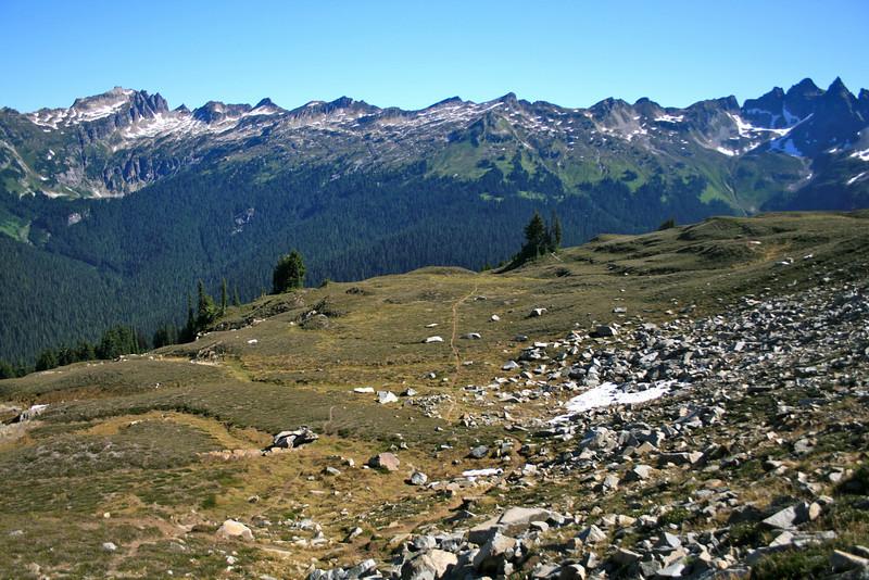 Start of the Canyon Lake Trail.