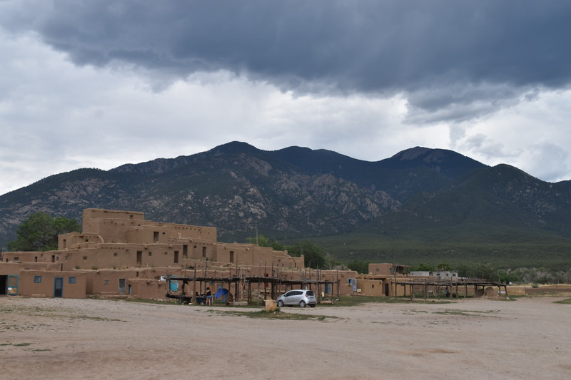Taos pueblo dwellings, continuously occupied for 1,000 years