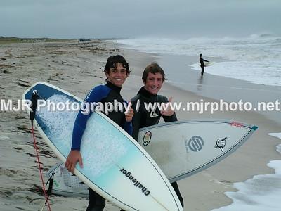 Surfing, Gilgo Beach, NY, (10-9-05)