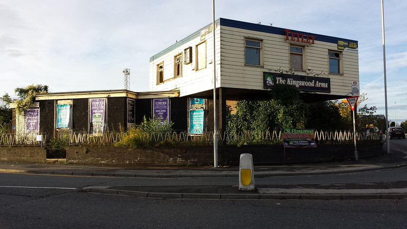 Spent the day in Bradford visiting someone and drove past this weird looking place..
