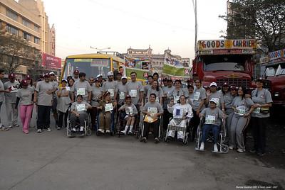 Mumbai Marathon 2007