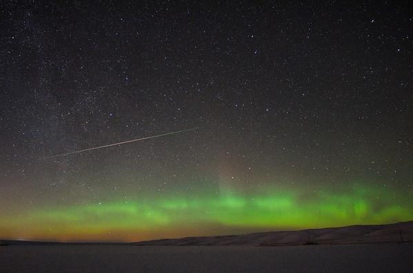 Xmas northern lights