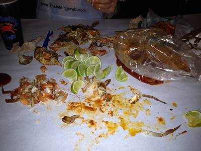 The Boiling Crab August 2012