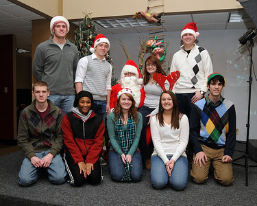 Pics with Santa at the Riverbender Community Center