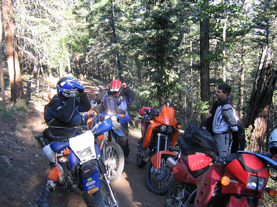 Estebans KLR ride Friday in BV