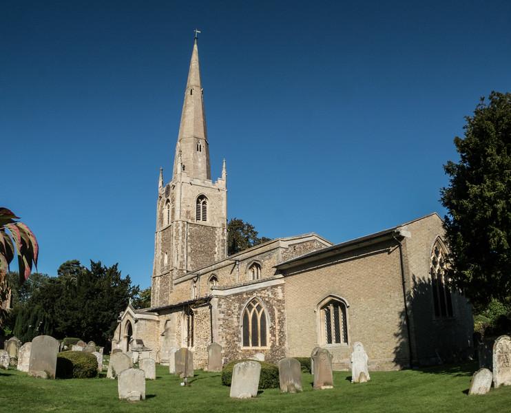 Houghton, All Saints