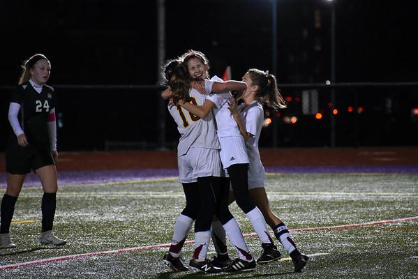 Lenox girls soccer vs. Ware in Western Mass. D-IV semifinals-110718