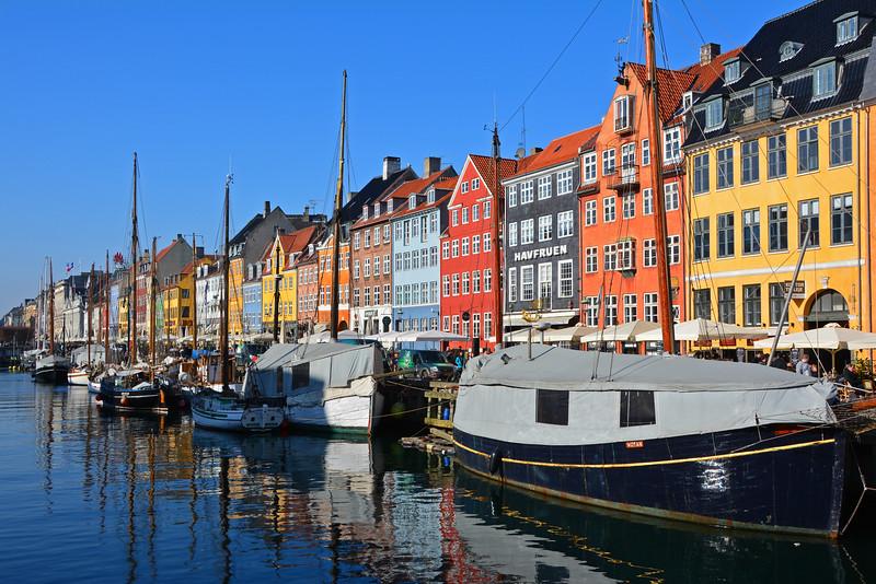 Nyhavn Harbor Copenhagen