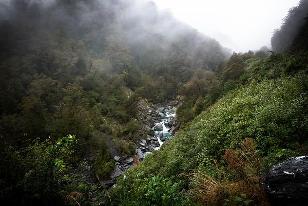 Makarora-Haast Pass Road