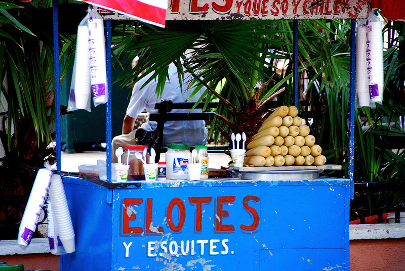 Elotes and Esquites