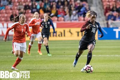 USWNT vs Switzerland • 10-19-2016
