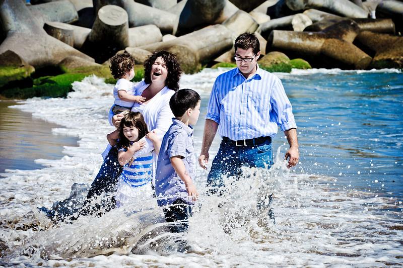 Michelle + Ben = Xander > Sabine > Merrick (Family Photography, Seabright Beach, Santa Cruz, California)