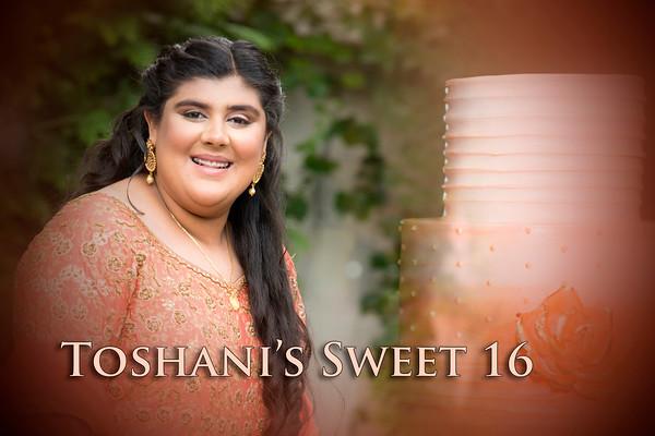 Toshani's Sweet 16