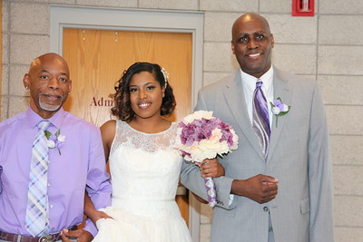 Jimmie & Jovan Collins Wedding Photos