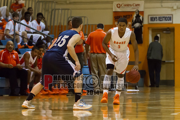 Lake Nona Lions @ Boone Braves Boys Varsity Basketball - 2013