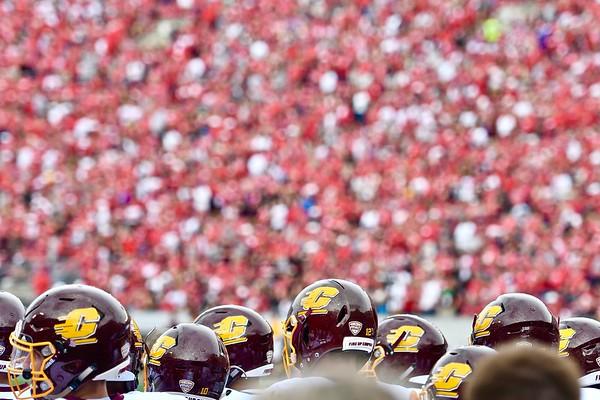 CMU football @ Wisconsin