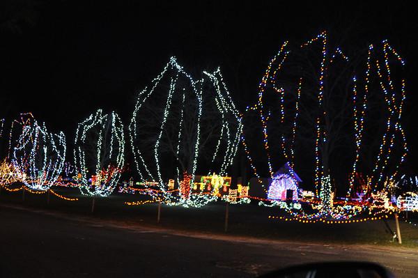 Light show in Upper Sandusky