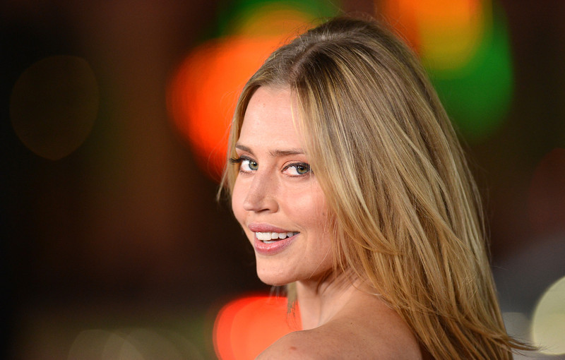. Actress Estella Warren arrives at the premiere of Relativity Media\'s \'Safe Haven\' at TCL Chinese Theatre on February 5, 2013 in Hollywood, California.  (Photo by Jason Merritt/Getty Images)