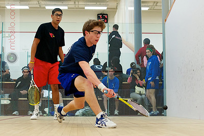 2010-12-04 Alex Nunez (Wesleyan) and  Will Hochman (Colby)