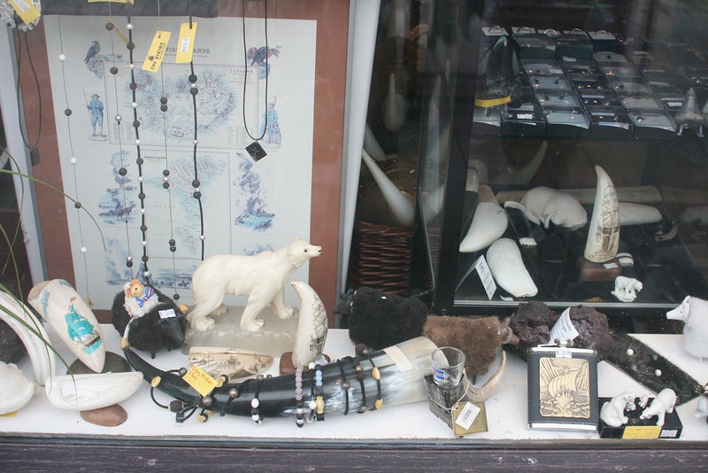 Store window display.
