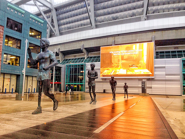 Terry Fox Plaza at BC Place