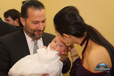 VIVIANA CARLOS ZEUS BAPTISM 2017