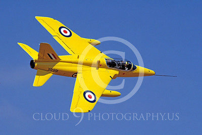 British RAF  Folland Gnat Military Airplane Pictures