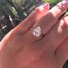 2.01ct Antique Pear Shape Diamond GIA G VS1 16
