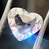 2.19ct Heart Portrait Cut Diamond, GIA J SI1 0